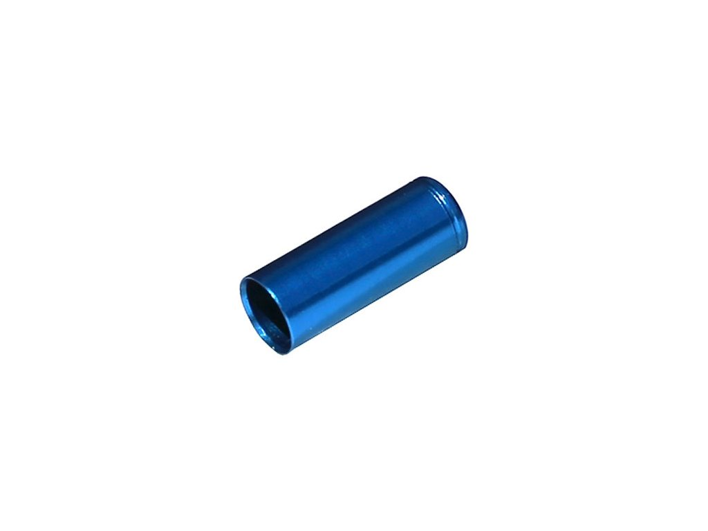 koncovka bowdenu MAX1 CNC Alu 5mm modrá