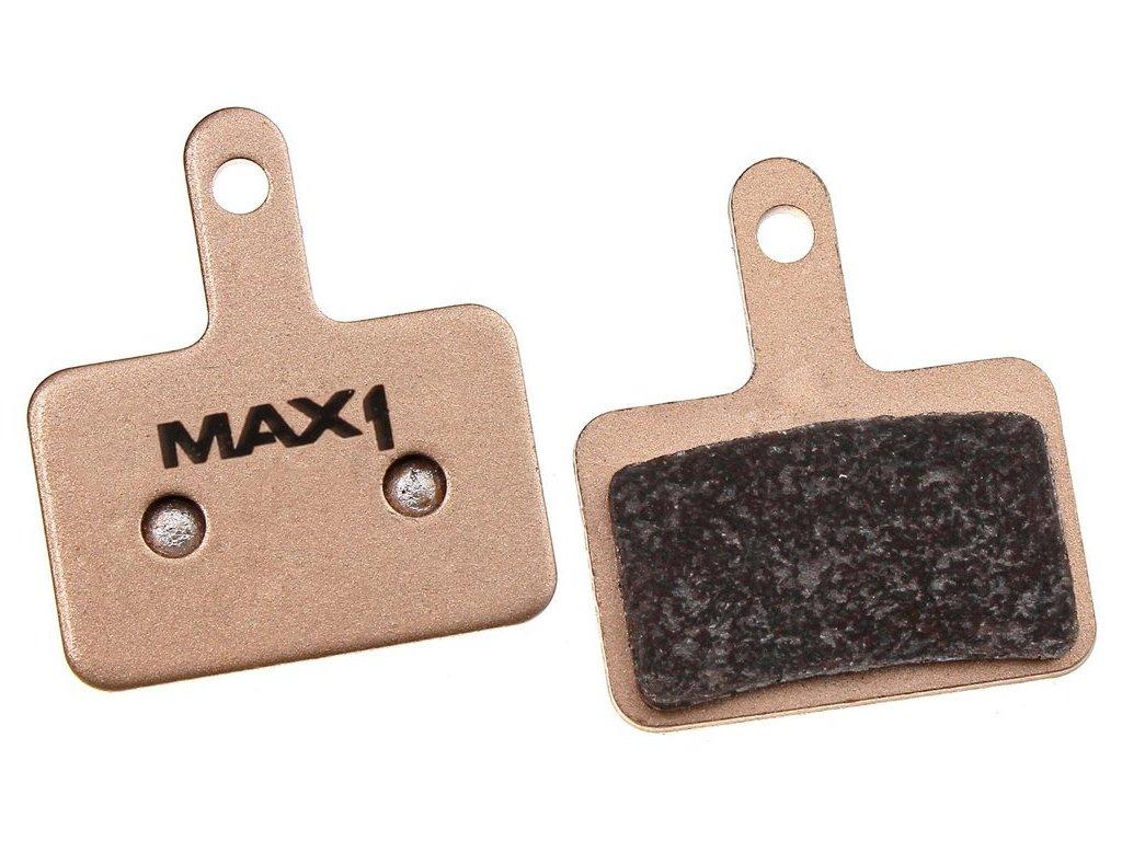 brzdové destičky MAX1 Shimano Sintered