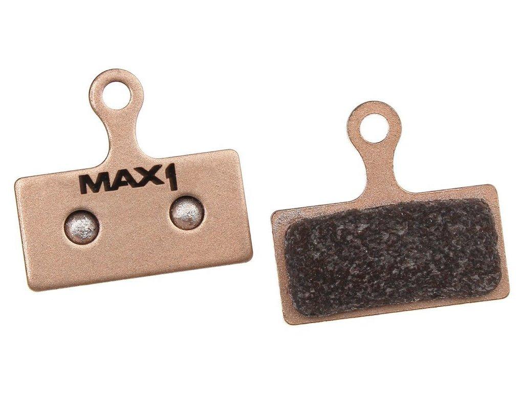 brzdové destičky MAX1 Shimano NEW Sintered