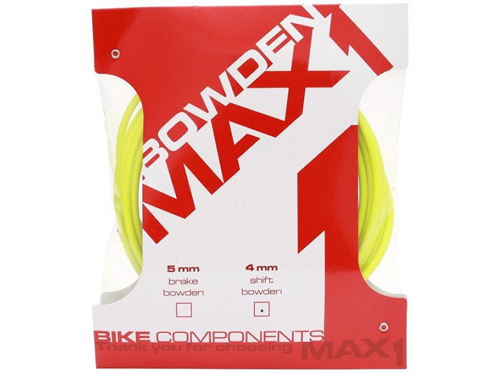 bowden MAX1 4 mm fluo žlutá balení 3 m