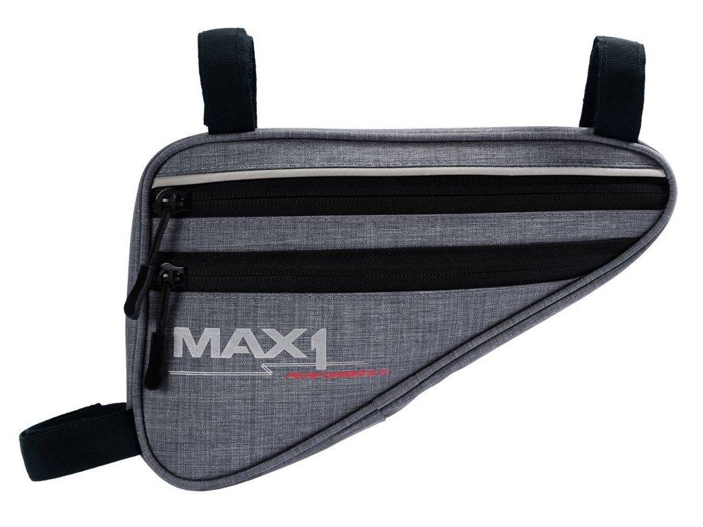 brašna MAX1 Triangle M šedá