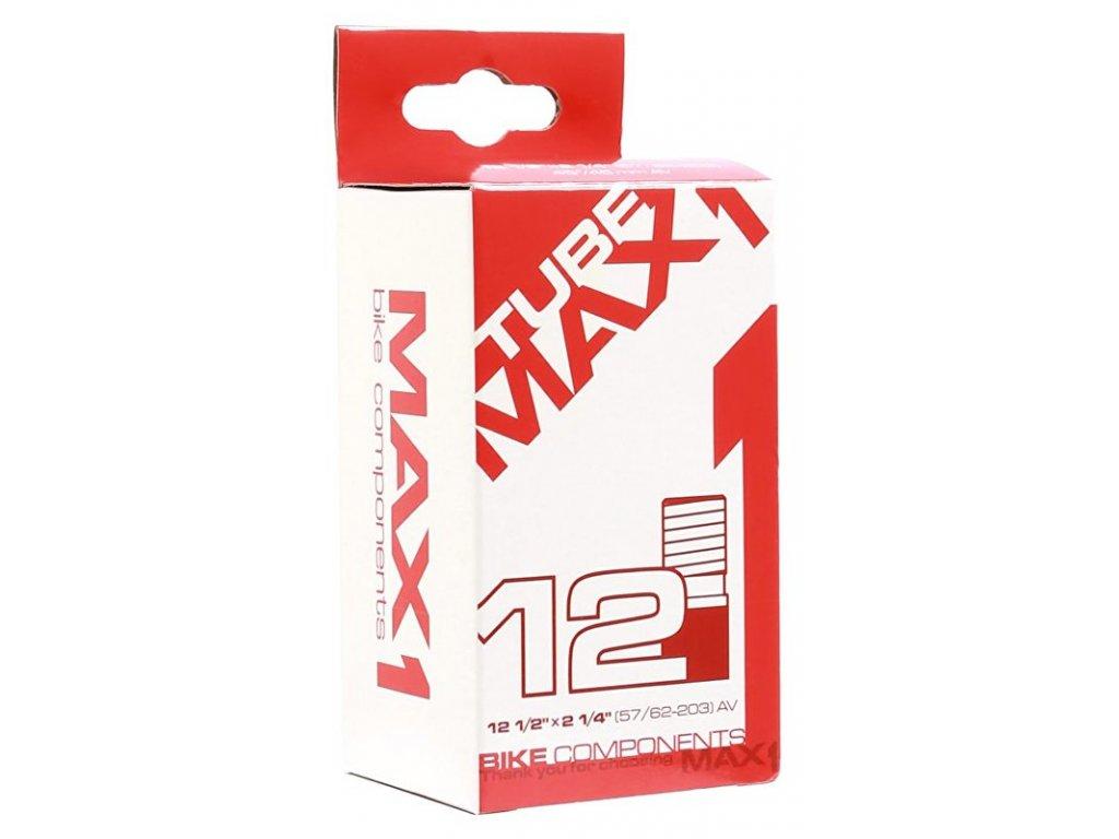 duše MAX1 12 1/2×2 1/4 62-203 AV 45°/45 mm zahnutý ventil
