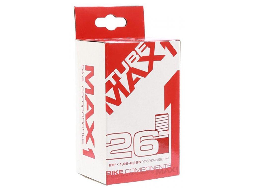 duše MAX1 26×1,95-2,125 AV (47/57-559)
