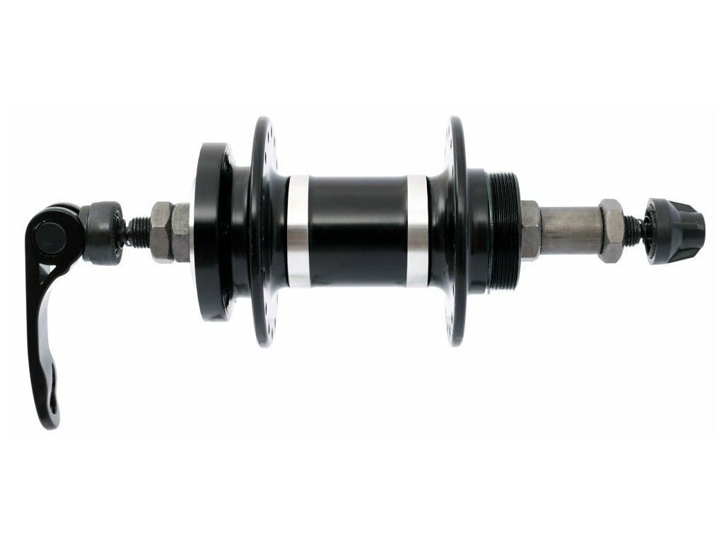 náboj MAX1 zadní, závitový, disc ložiskový RÚ černý, 32 děr, 7-8 rychlostí