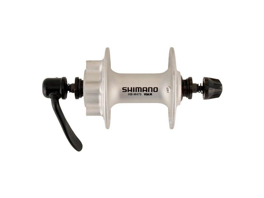 náboj disc SHIMANO Deore HB-M475BS 32d přední.6š.stříbrný