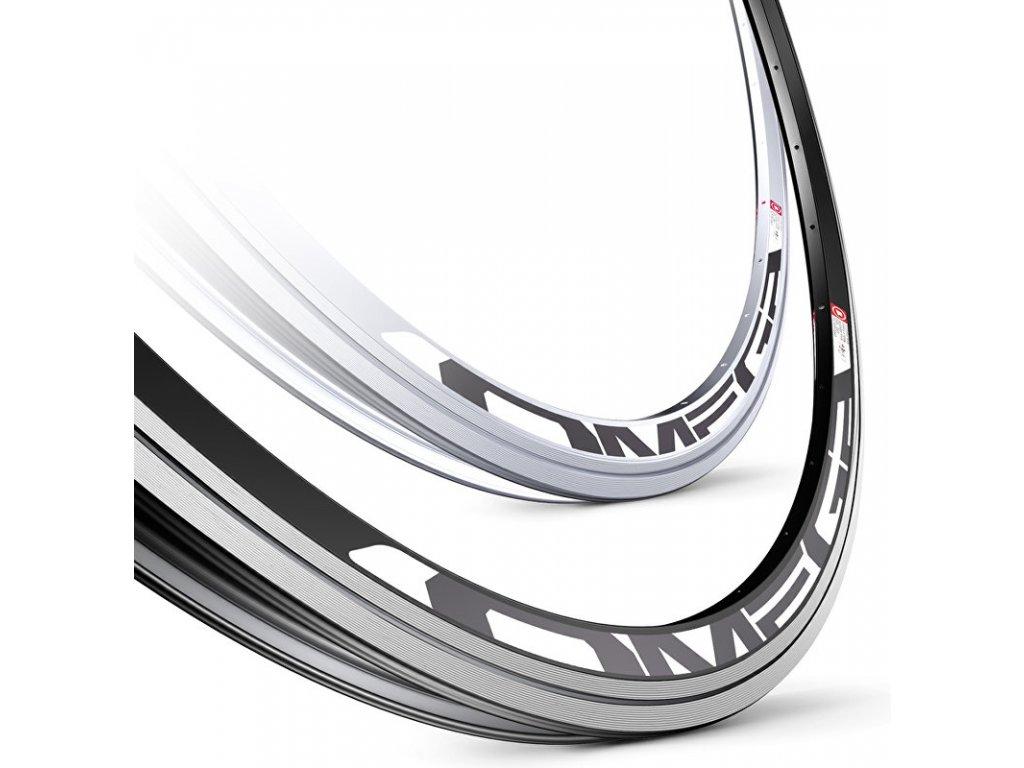 ráfek MACH1 silniční Omega 700C/32děr/0nýt černý
