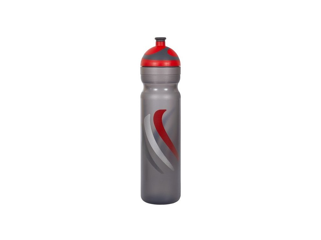 Zdravá lahev 1,0 l BIKE 2K19 červená