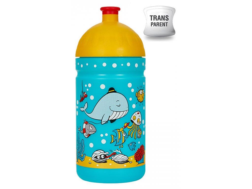 Zdravá lahev 0,5 l Mořský svět