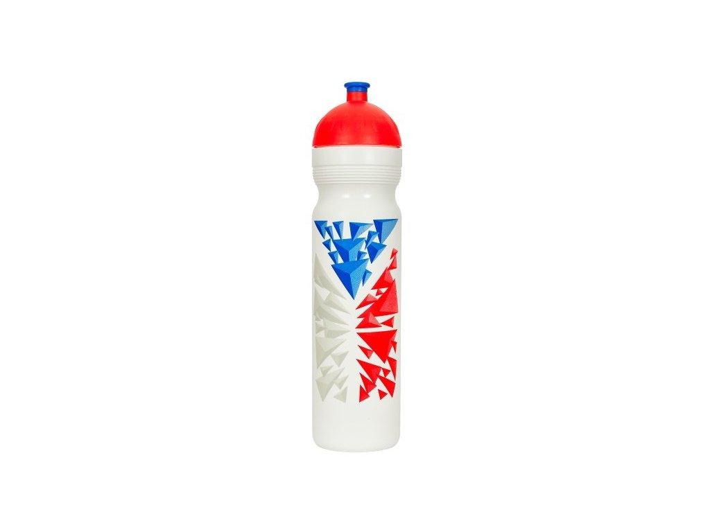 Zdravá lahev 1,0 l Vlajka