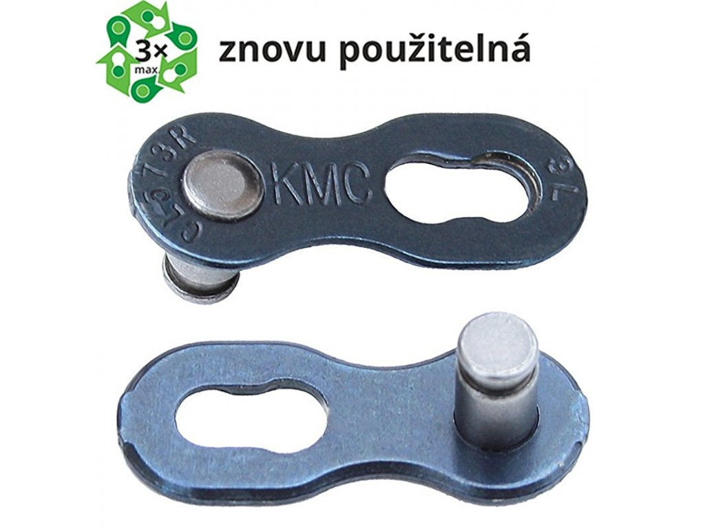spojka řetězu KMC 6-8 speed, baleno po 5 ks, cena za balení