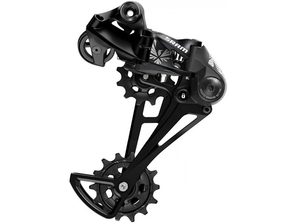 měnič SRAM NX Eagle 12 speed, černý