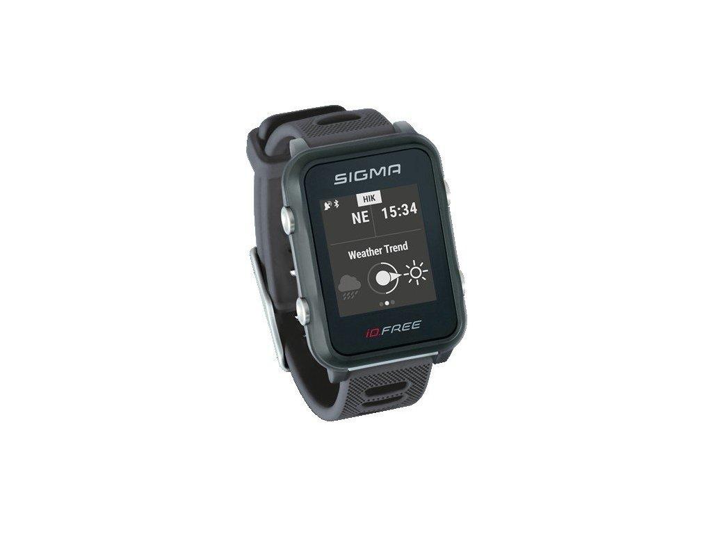 chytré hodinky SIGMA iD.FREE šedé