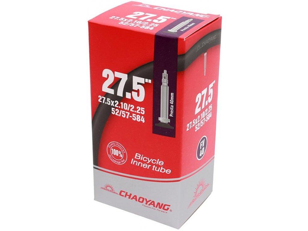 duše CHAOYANG 27,5x2,10/2,25 (52/57-584) FV 40 mm