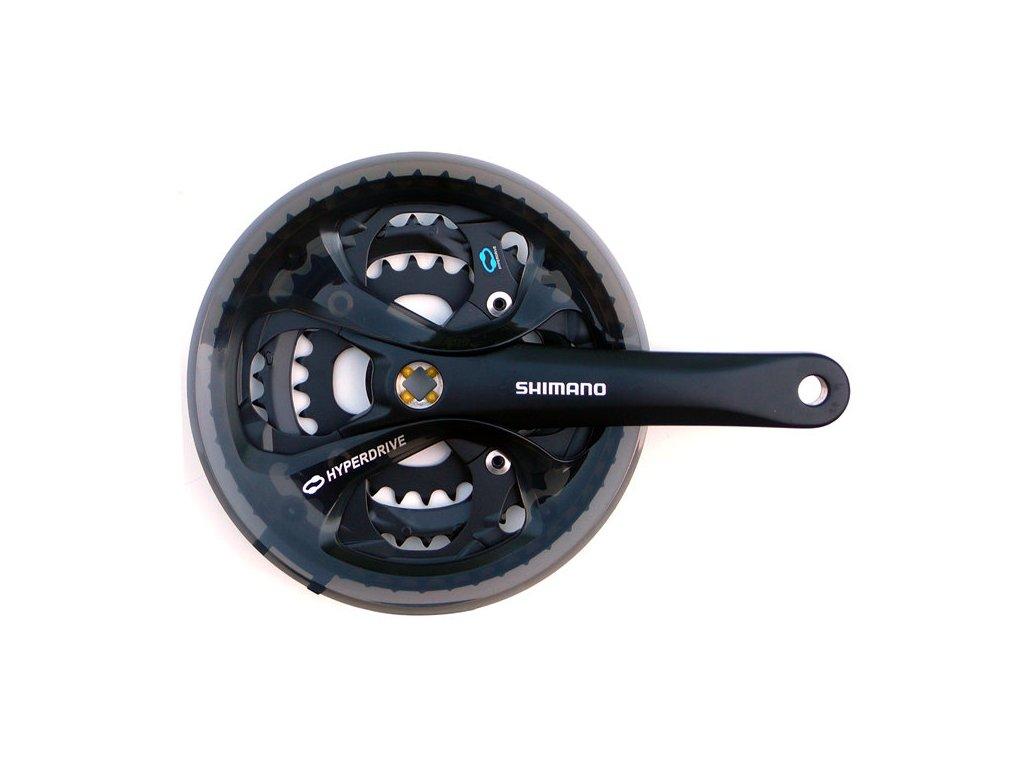 kliky SHIMANO Acera FC-M361 , černé, s krytem, pro osu čtyřhran