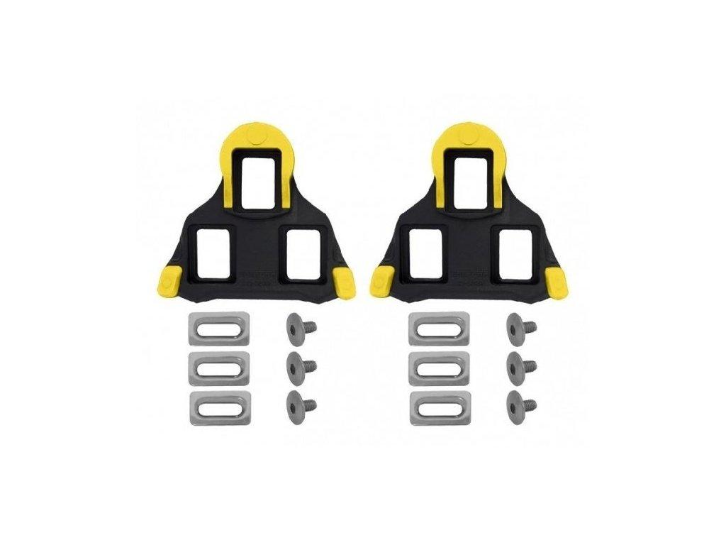kufry SHIMANO silniční SPD-SL SM-SH11 černo/žluté s vůlí