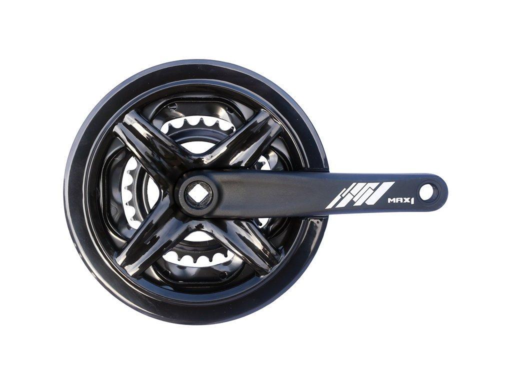 kliky MAX1 Tour 42-34-24 175mm černé s krytem