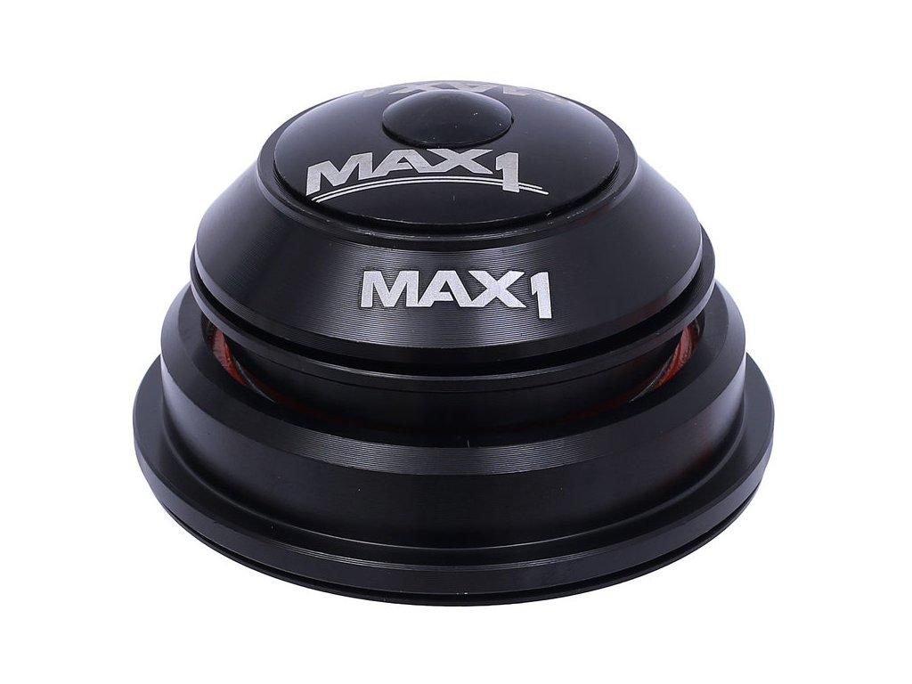 """semi-integrované asymetrické hlavové složení MAX1 1,5"""" a 1 1/8"""" černé"""