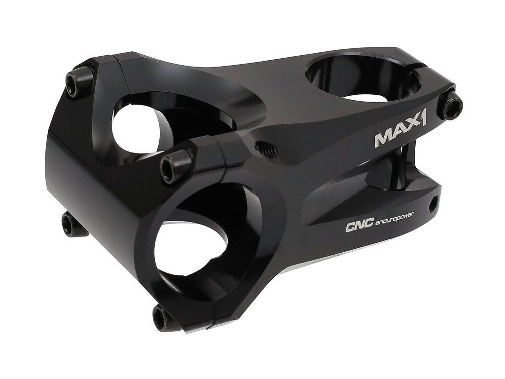 představec MAX1 Enduro CNC 60/0°/31,8 mm černý