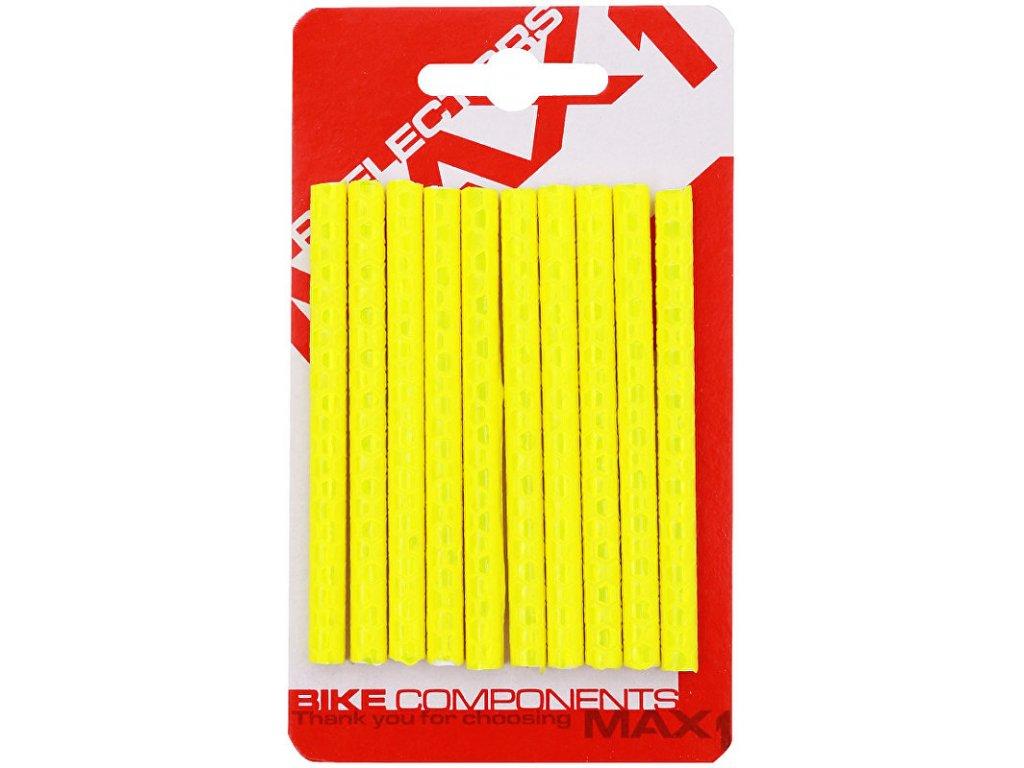 bezpečnostní odrazky na dráty MAX1 Seku-Clip žluté