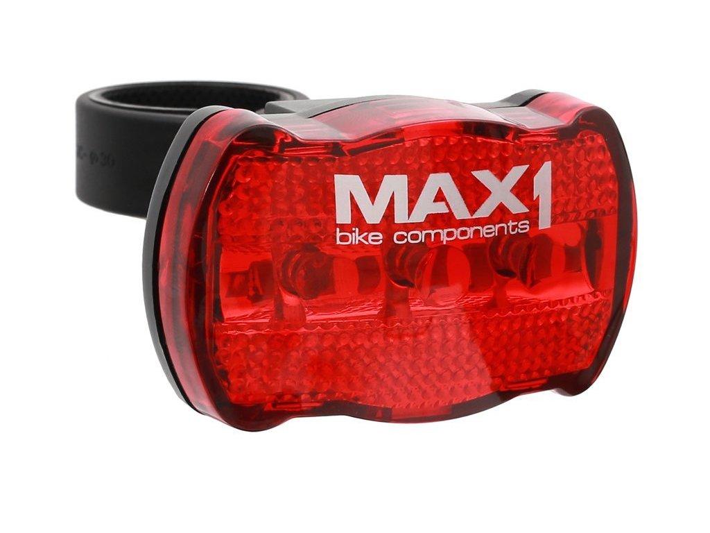 blikačka zadní MAX1 Basic Line 3 LED