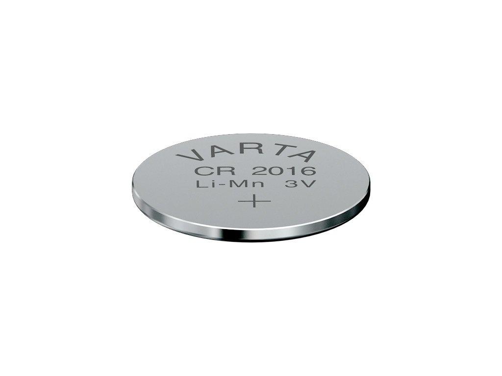 baterie Varta 2016 CR do computerů a pulsmetrů