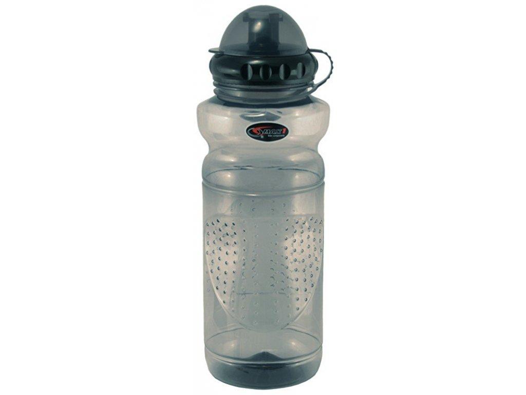 lahev MAX1 0,7 l transparentní šedá