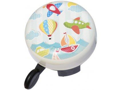 zvonek MAX1 City letadla, balón