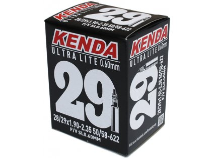 duše KENDA 29/28x1,9-2,35 (50/58-622) FV 33 mm Ultralite