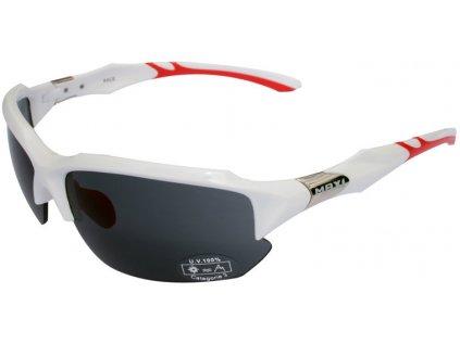 brýle MAX1 Race bílo-červené