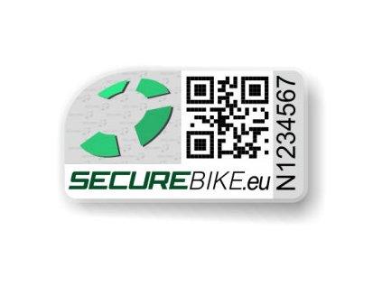 holografický štítek SECUREBIKE