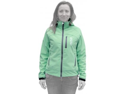 bunda ROCK MACHINE Softshell women green
