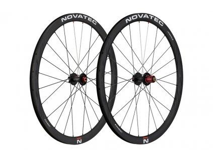 Silniční kola Novatec R3 Disc clincher