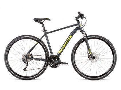 Jízdní kolo Dema AVEIRO 7 dark grey-neon 2020
