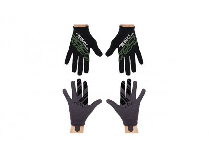 dlouhoprsté rukavice ROCK MACHINE Race khakki