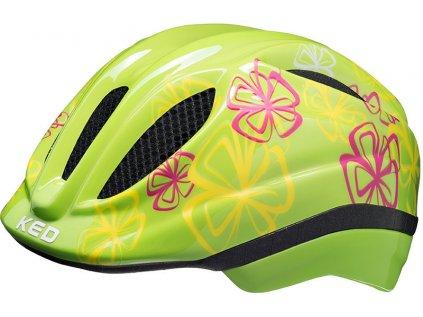 přilba KED Meggy Trend  Green Flower