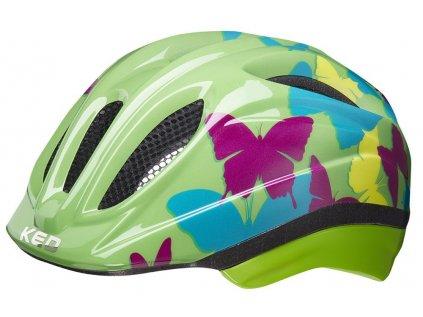 přilba KED Meggy Trend  butterfly green