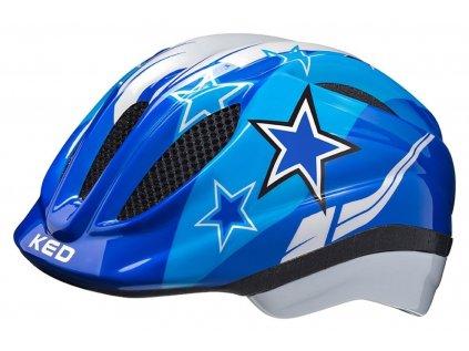 přilba KED Meggy  blue stars
