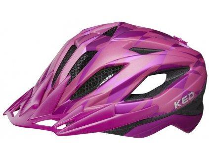 přilba KED Street Junior Pro S violet 49-55 cm