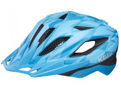 přilba KED Street Junior Pro M blue 53-58 cm