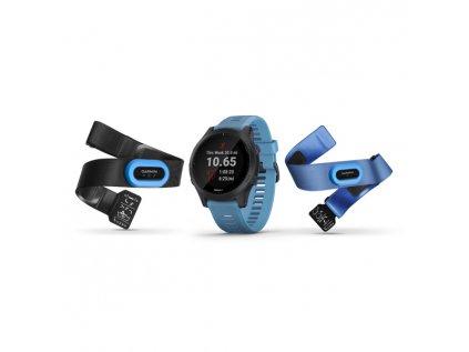 Garmin Forerunner 945 Blue & Slate Tri-Bundle