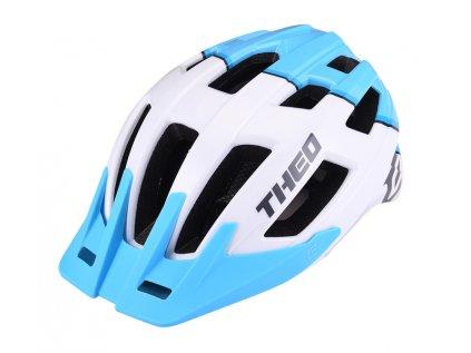 Cyklistická přilba Extend THEO white-sky blue,  shine