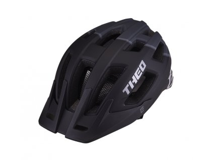Cyklistická přilba Extend THEO black-dark grey,  matt