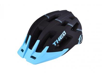 Cyklistická přilba Extend THEO black-sky blue,  matt