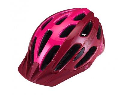 Cyklistická přilba Extend ROSE bordou-Lady pink,  shine