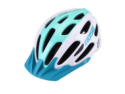 Cyklistická přilba Extend ROSE white-green,  shine