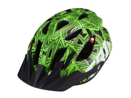 Přilba Extend TRIX labirint green , shine