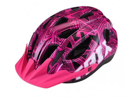 Přilba Extend TRIX labirint pink , shine