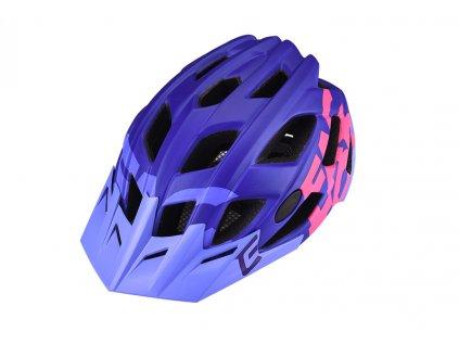 Přilba Extend FACTOR violet-pink  matt