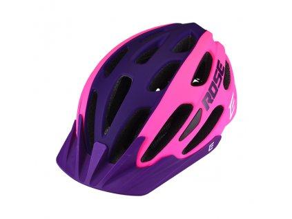 Cyklistická přilba Extend ROSE pink-night violet, XS/S (52-55 cm) matt