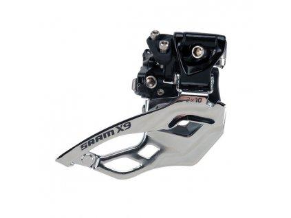 Přesmykač SRAM X9 High Clamp 34,9mm 2x10 Speed